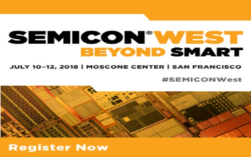 semicon west 2018-promotions pendant l'exposition